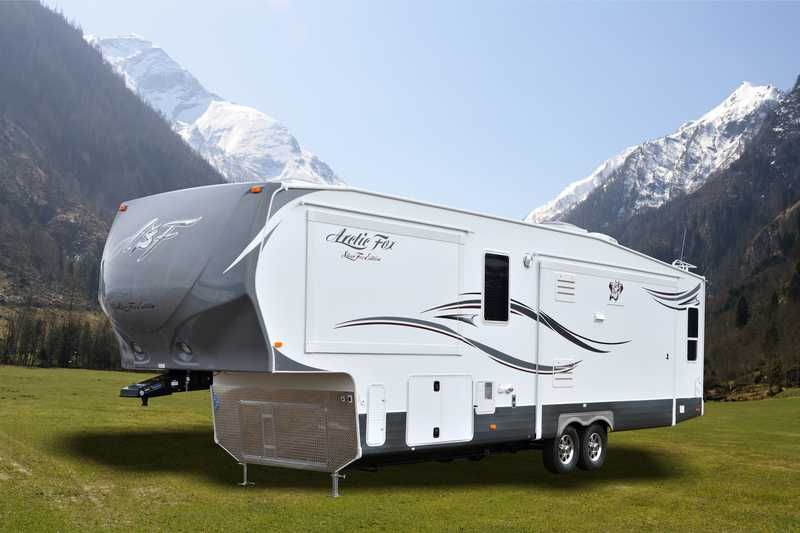 2014 Arctic Fox 35 5z Fifth Wheel Campers Arctic Fox
