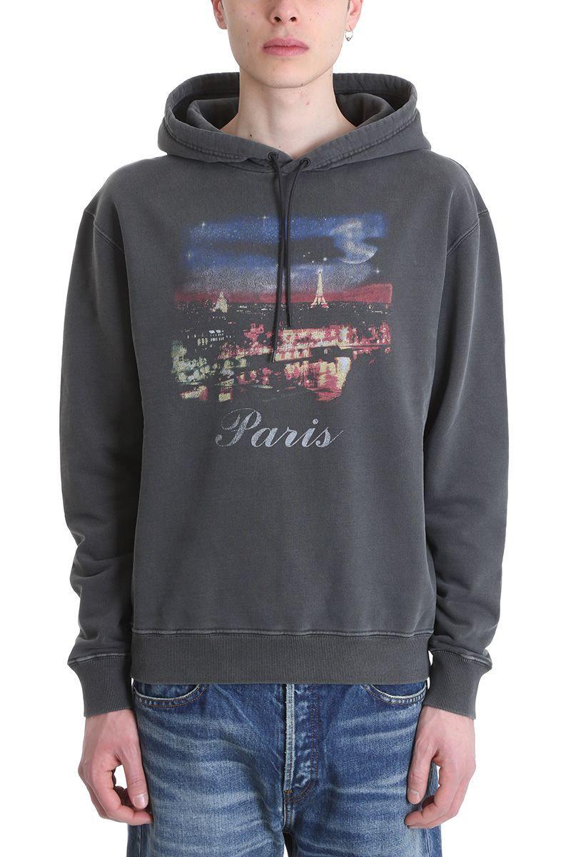 e450835a BALENCIAGA PARIS GREY COTTON HOODIE. #balenciaga #cloth ...