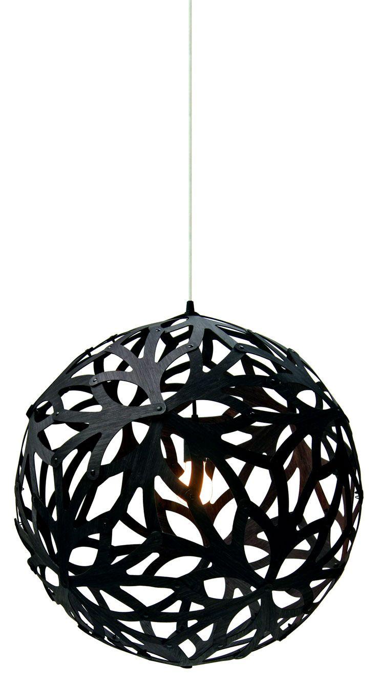 floral pendant lamp by david trubridge diy luminaire. Black Bedroom Furniture Sets. Home Design Ideas