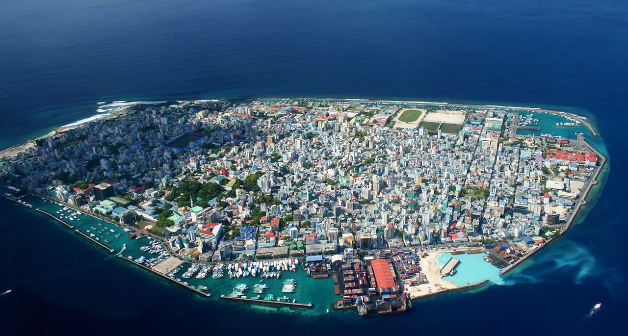 Male Maldives So Remote Yet So Densely Packed Male City