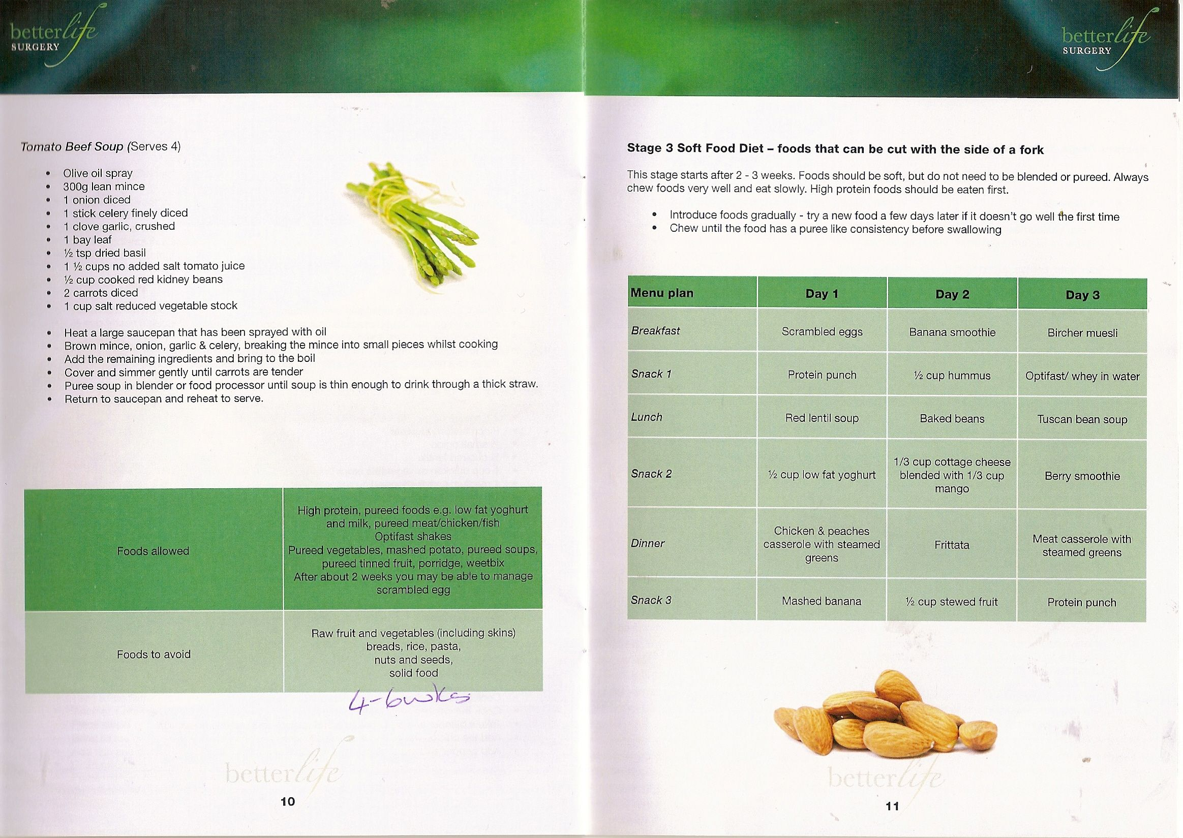 soft foods Gastric sleeve recipes, Soft foods diet