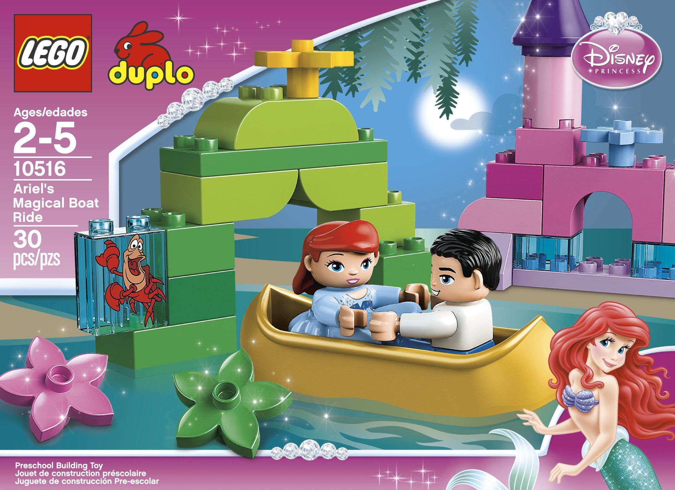 Disney Princess Ariel Lego Collections Are A Fun Way For