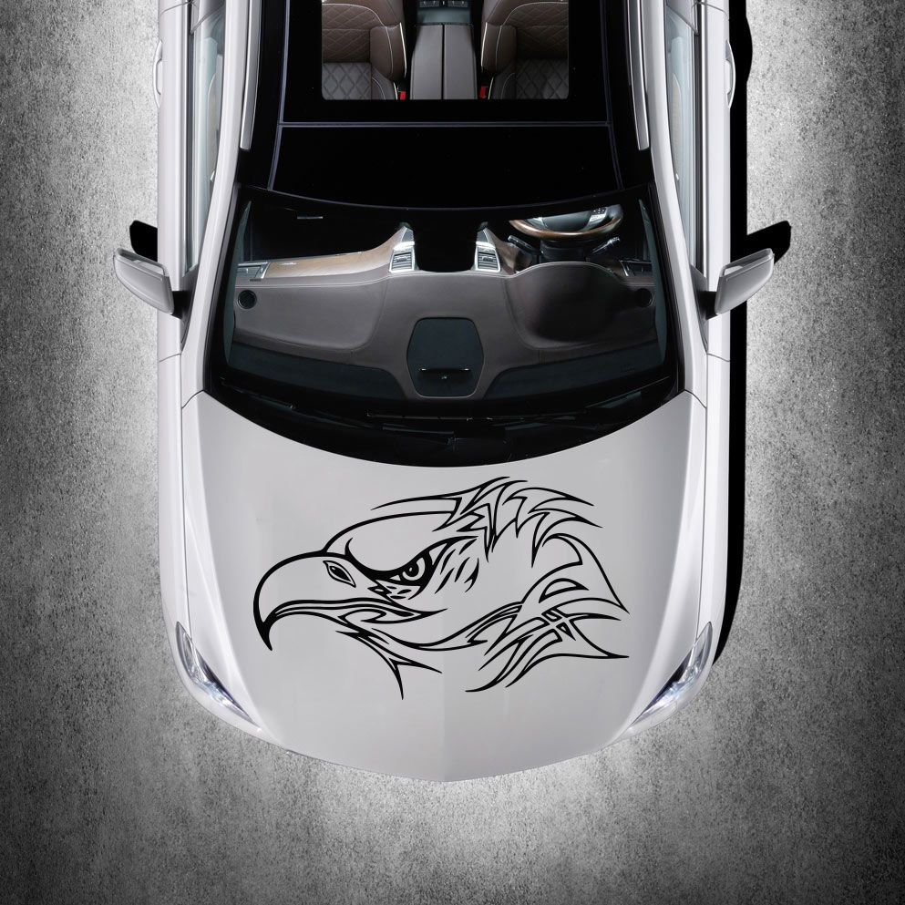 Car sticker design pinterest - Tribal Eagle Bird Tattoo Design Hood Car Vinyl Sticker Decals Graphics Sv4910