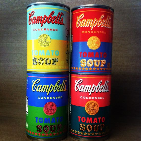 Campbell's Soup Releases Warhol Special Edition Cans