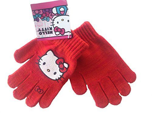 044380fef Feature: One size fits all Outdoor Winter Gloves Features screenprinted Hello  Kitty Girls winter gloves featuring Hello Kitty.