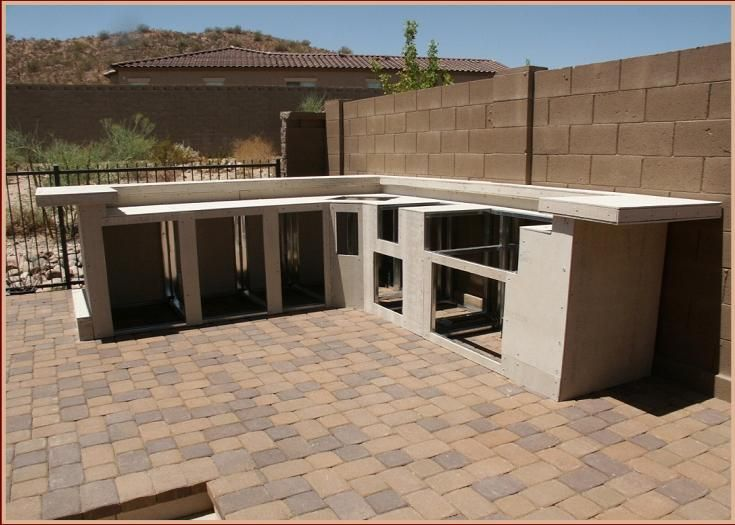 Symphony Bbq Custom Design Islands Using Outdoor Kitchen Concepts Accessories And Viking Grill Kitchens