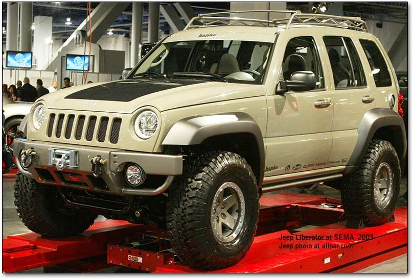 it just looks like its trying too hard. Jeep liberty