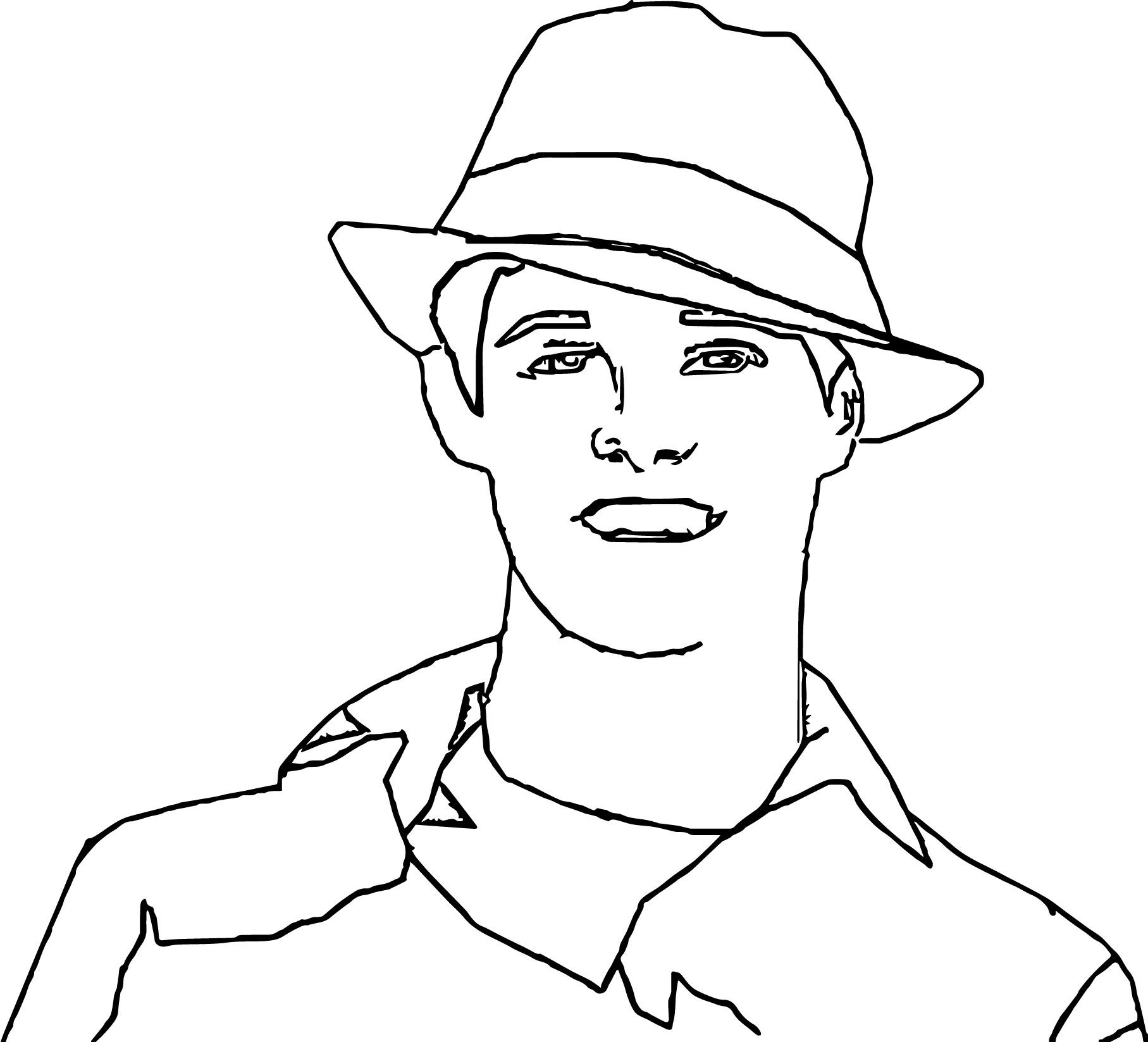 Cool High School Musical Characters Ryan Evans Coloring Pages High School Musical Ryan Evans Coloring Pages