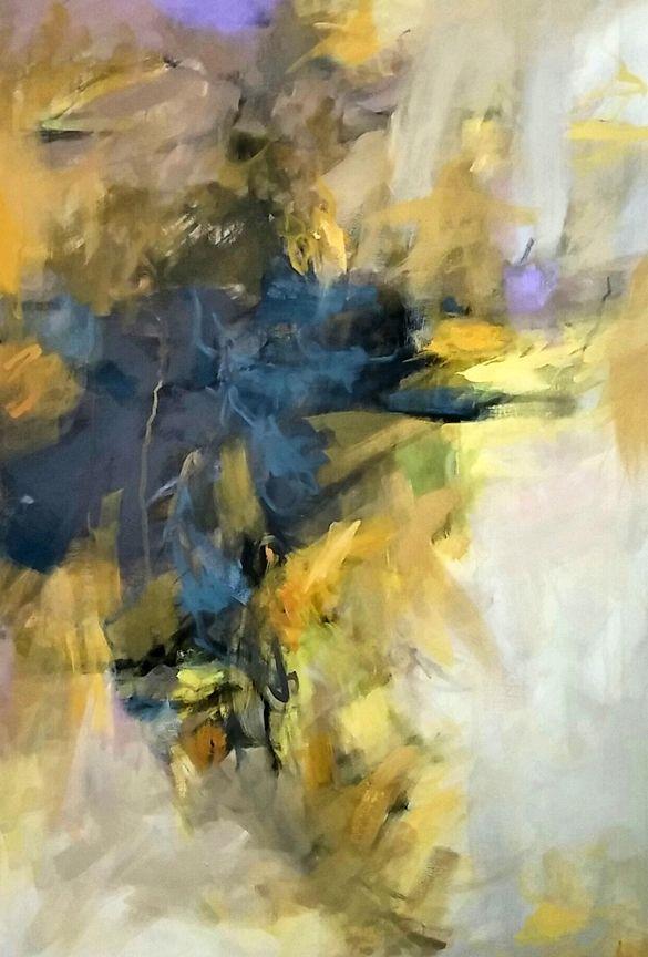 Aureum Moment, 36x24 acrylic on canvas by Debora L. Stewart | My ...