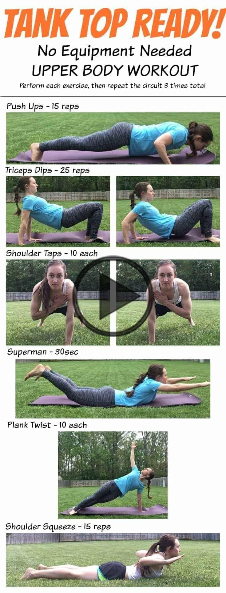 This May workout of the month is designed to specifically target the upper body,…