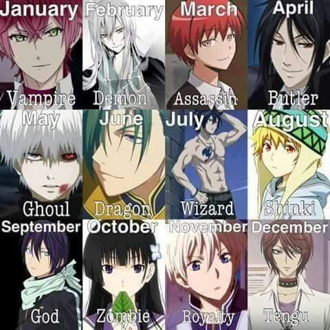 I M A Ghoul Yey And Who Are You Anime Zodiac Anime Horoscope Anime