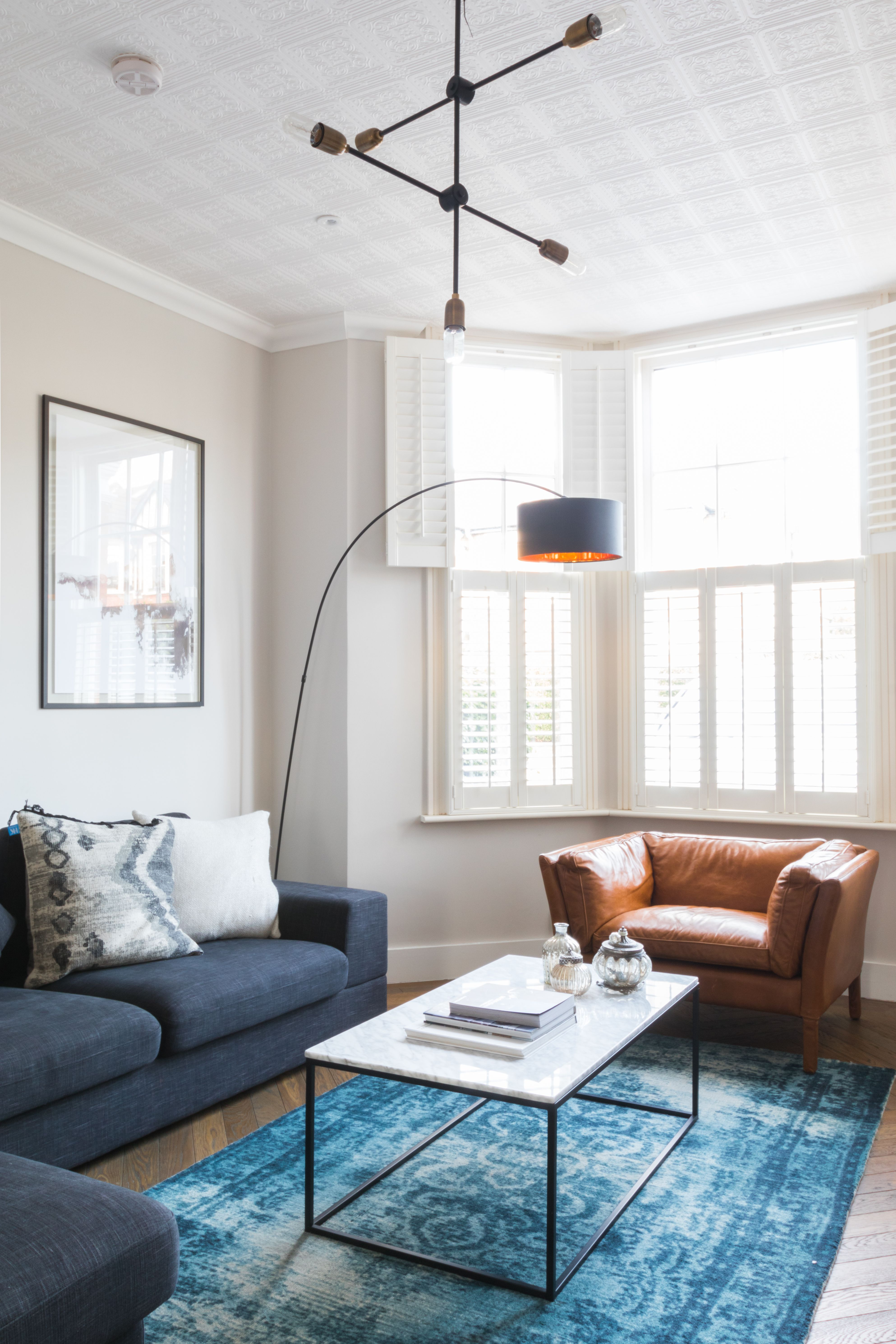 Living Room Scandi Style Industrial Luxe Mid Century Mid