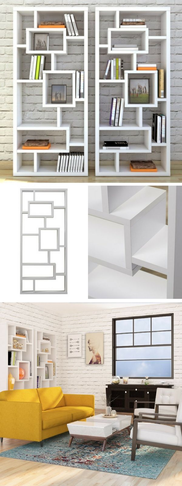 Top best bookshelves for small spaces unique check and shelves