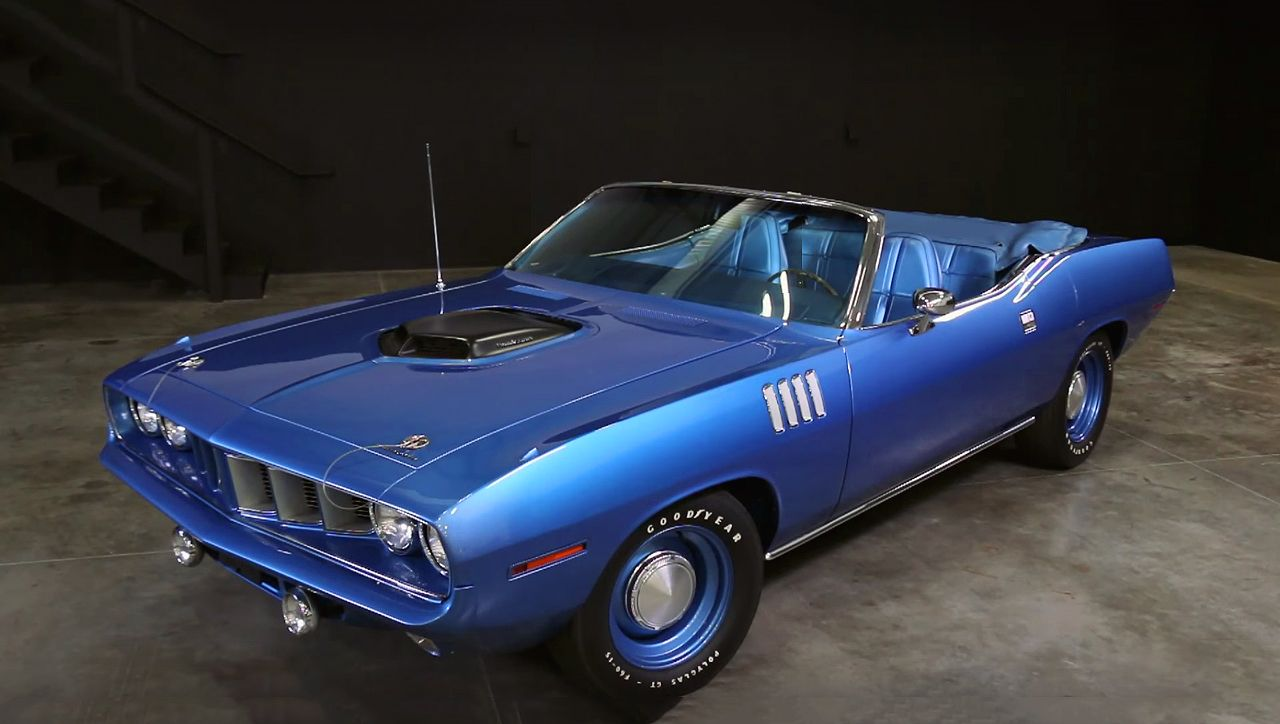 The Most Famous Mopar Ever - 1971 Plymouth Hemi Cuda Convertible ...