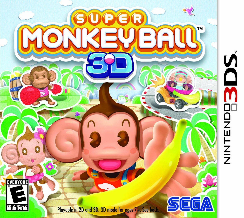 Super Monkey Ball 3D Nintendo 3DS Video