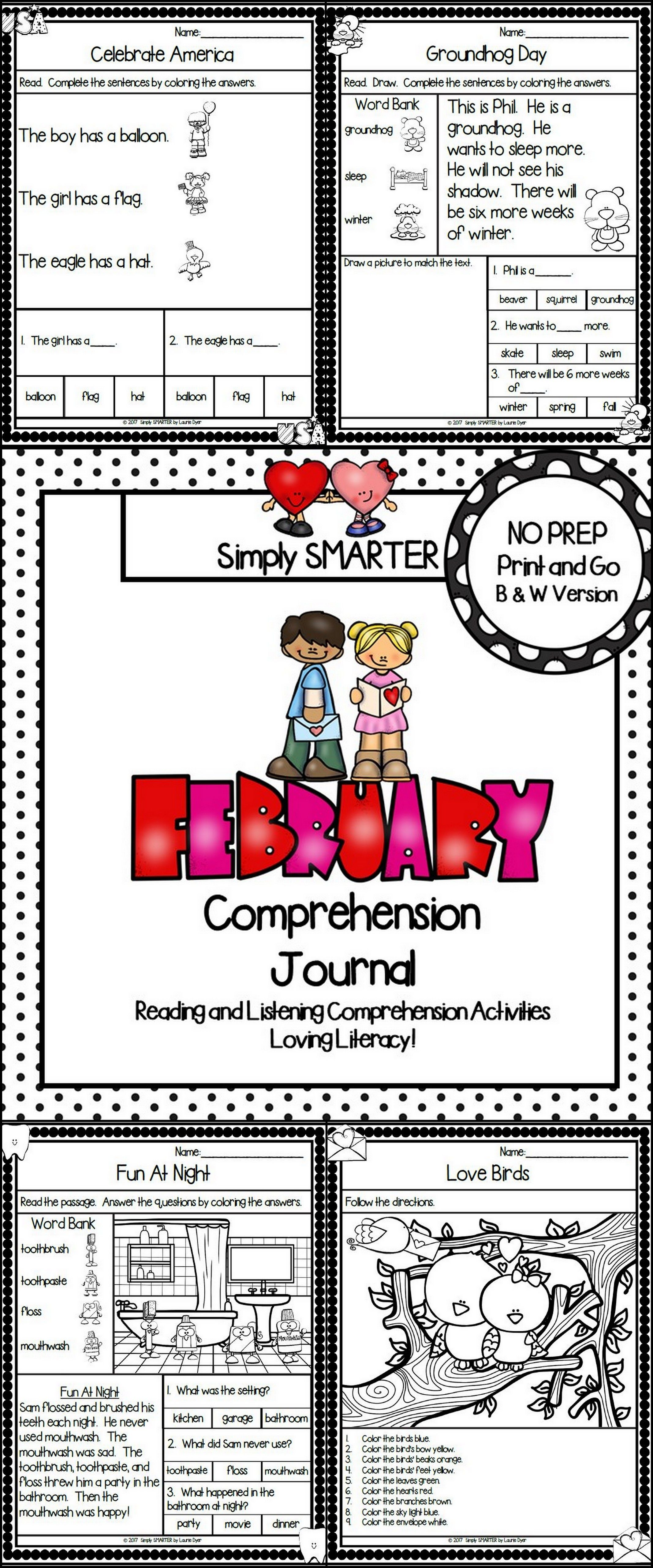 Are You Looking For A No Prep Literacy Activity For