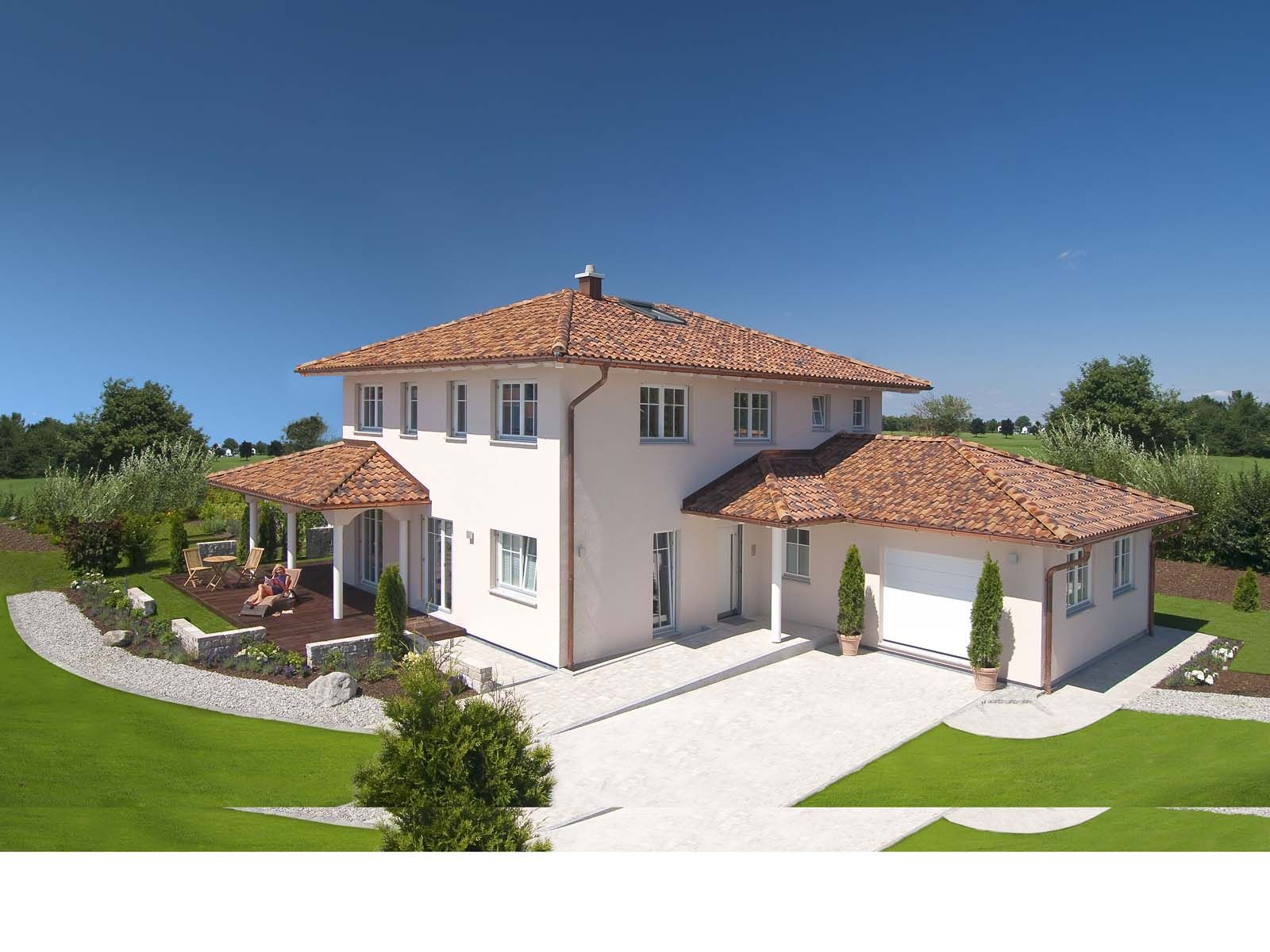 Villa landhaus modern  Projekt Domu Riwiera | General | Pinterest