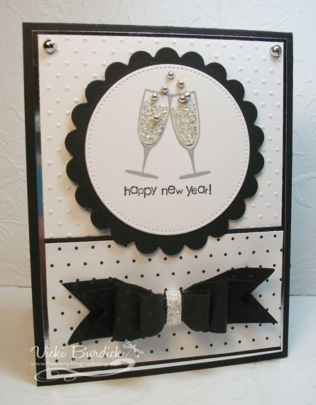 happy new year by justcrazy cards and paper crafts at splitcoaststampers