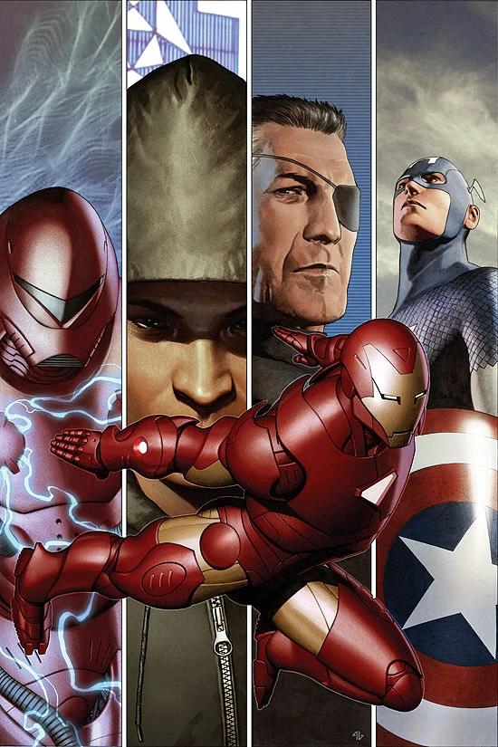 Iron Man Extremis Armor Artistas Comics Heroe