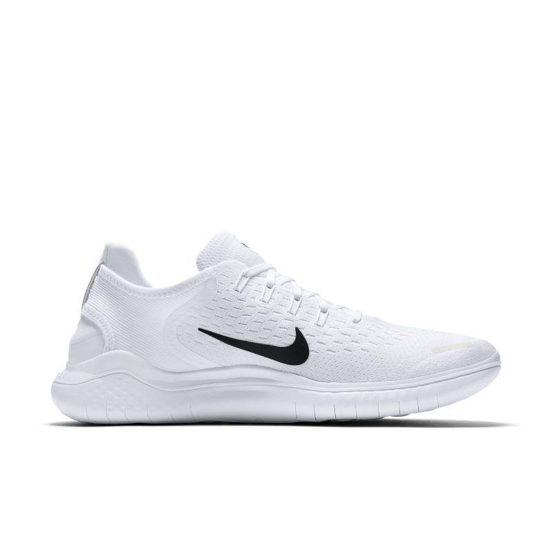 Nike free rn 2018 mens running shoe white running