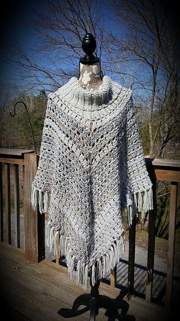 Sporty Poncho Pattern By Salena Baca Crochet Crochet Poncho