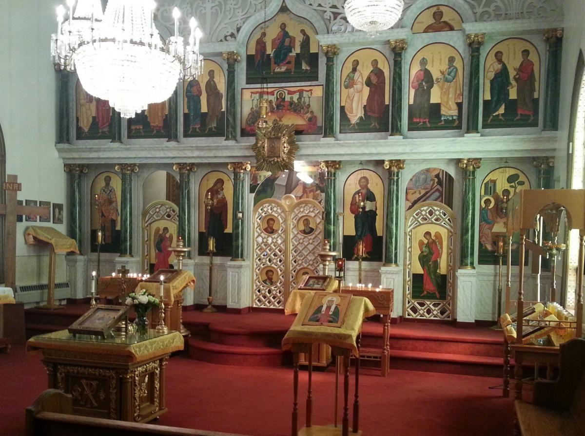 Holy Trinity Orthodox Church, Wilkes Barre, PA   Iconostasis of NEPA ...