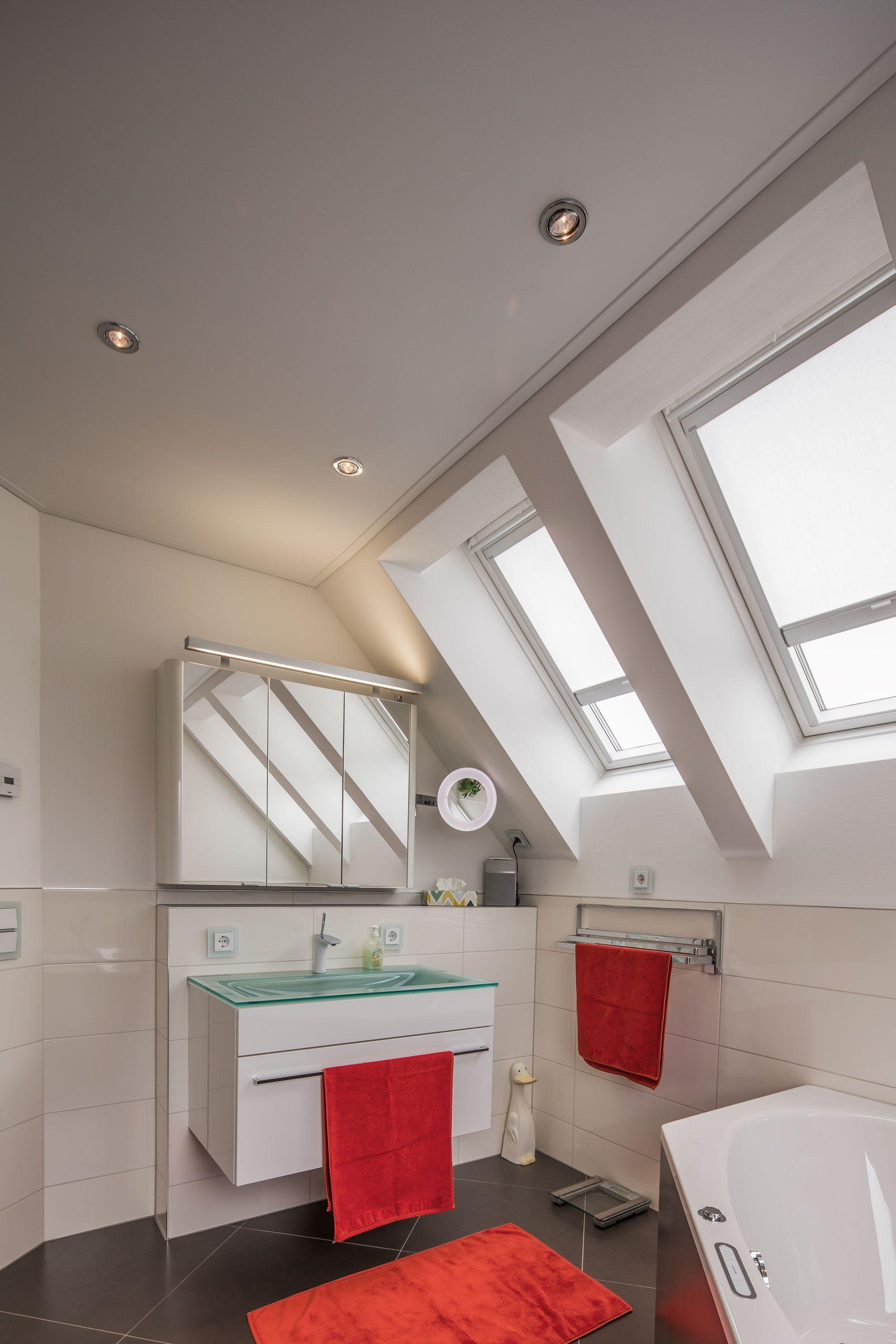 Inspiration Fur Eine Badezimmerdecke Mit Vielen Fenstern Badezimmer Decke Inspiration Decken Badezimmer Badkamer