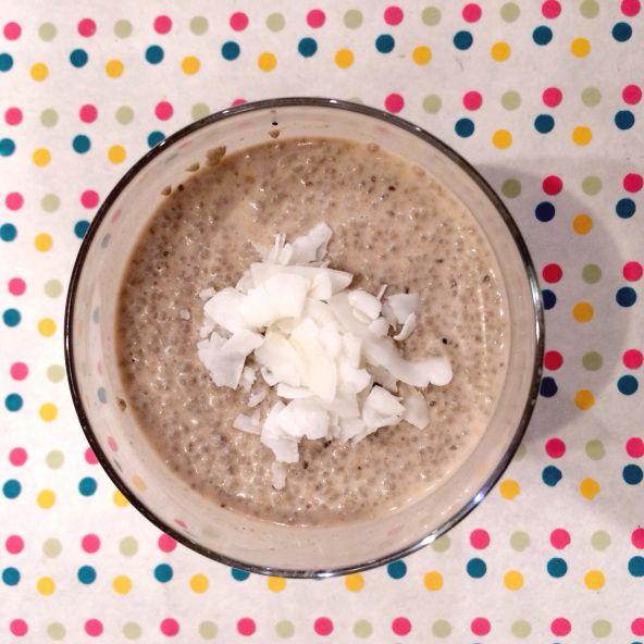 Chia protein pudding