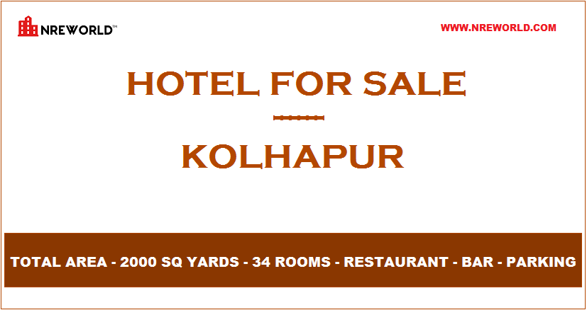#Hotel 34 Rooms for Sale in Kolhapur - Maharashtra - India.  For Further more details kindly Email us at - nreworld@nreworld.com  Visit our website - www.nreworld.com  #hotelforsale #Kolhapur #maharashtra  #Realestateinvestment #commercial #nreworld #hotelsale #hotelinvestment #hotels