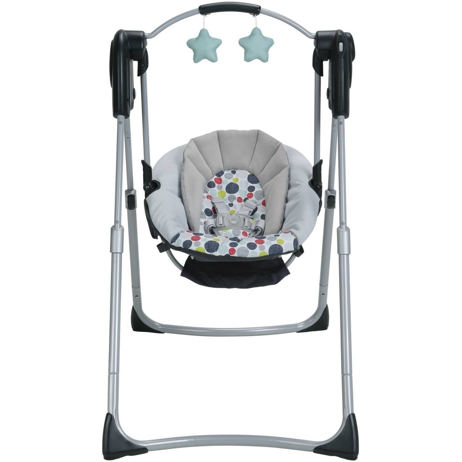 Details About Graco Slim Spaces Compact Baby Swing Etcher Mobile