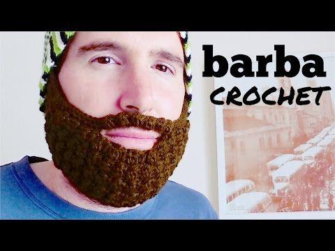 BARBA a crochet (ganchillo) paso a paso - YouTube | tejidos ...