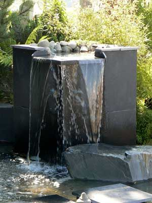 Contemporary Design Meets Natural Elements With This Modern Water Feature
