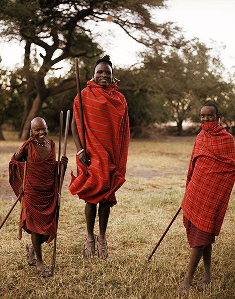 John lived in Kenya for a period of time in 2011 and fell in love with Kenyan culture. Here we see a picture of the Masaai people native to the southern region of Kenya.