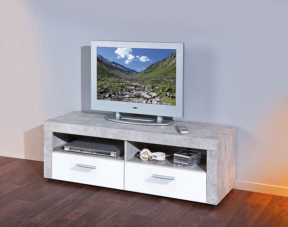 TV-Lowboard, Breite 134 cm Jetzt bestellen unter   moebel - skandinavischer landhausstil wohnzimmer
