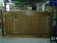 ksl king wood bed frame $80