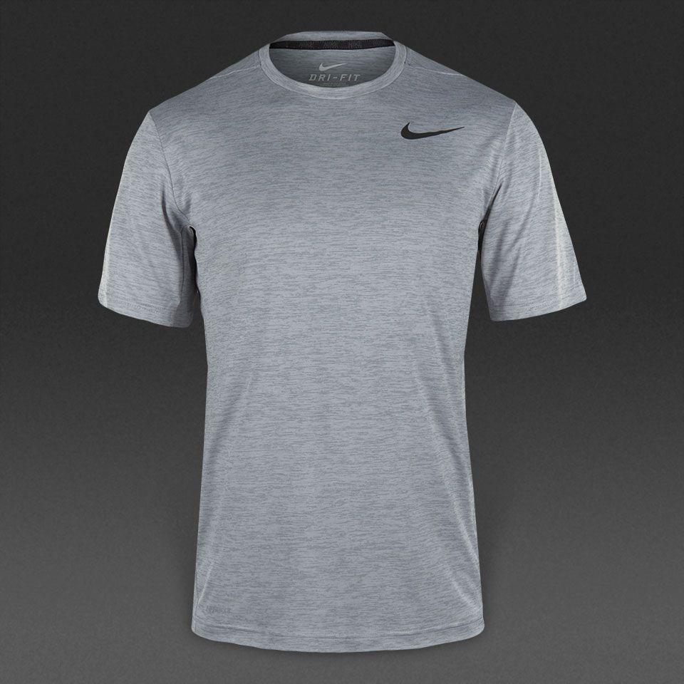 Nike Dri-Fit Training SS - Cool Grey/Black