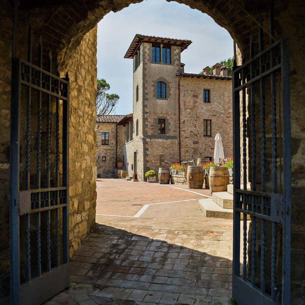 Castel Monastero Castel, Siena, Toscana
