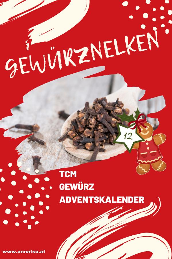 Gewurznelke Turchen 12 Vom Tcm Gewurz Adventskalender Adventkalender Adventskalender Advent