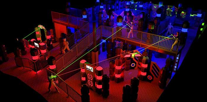 Laser Tag Arena Casual Day