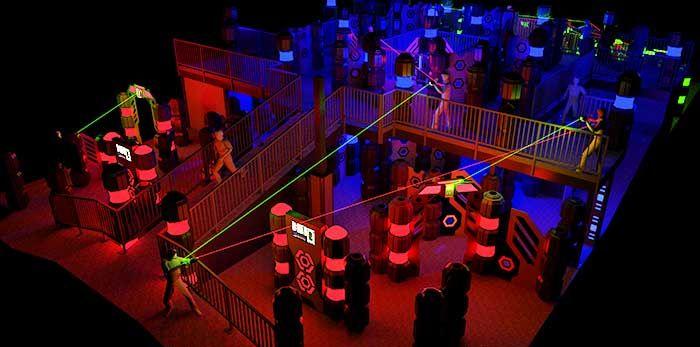 Westborough Laser Tag Arena Laser Tag Lazer Tag Golf Event