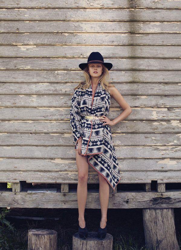 poncho +hat--stylist Jolyon Mason