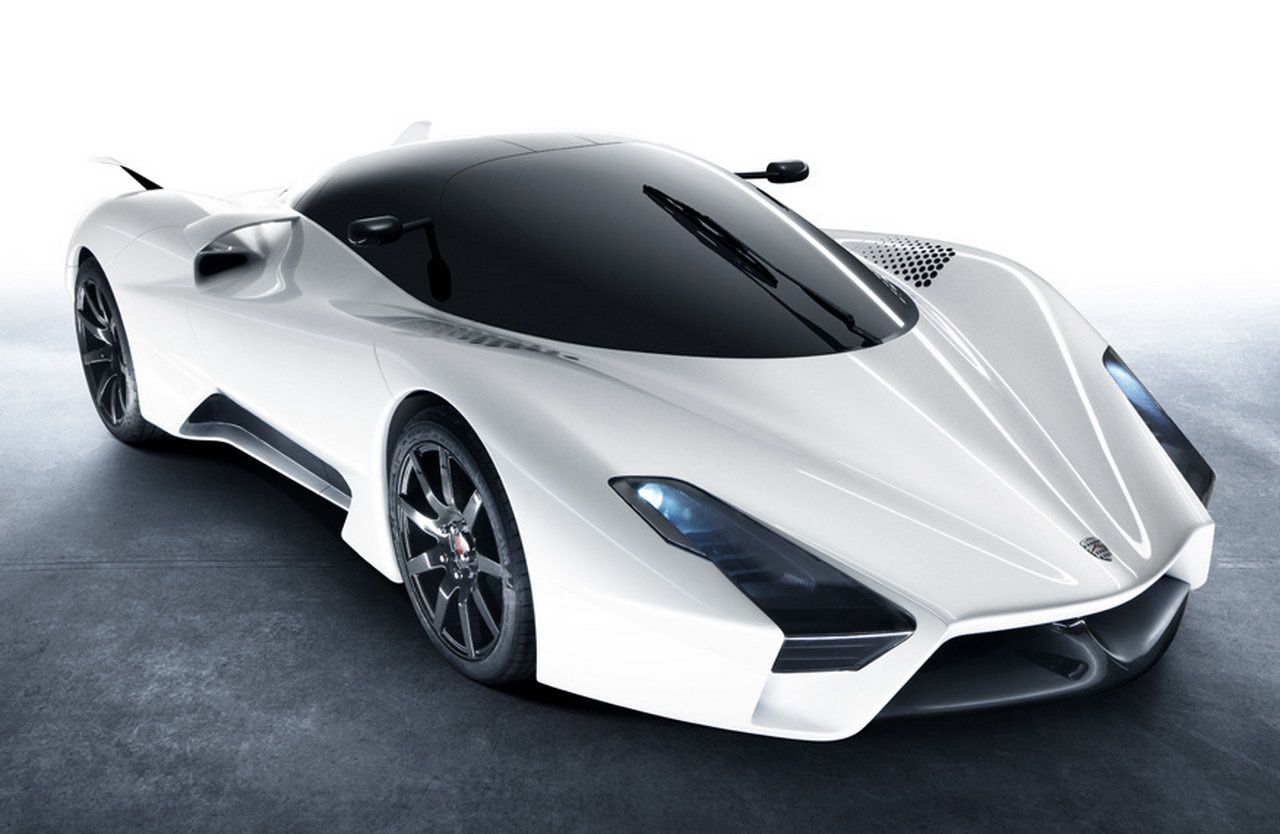 SCC Tuatara. Faster than a Bugatti Veyron SS. Made in America ...
