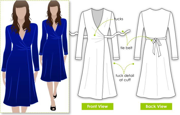 Kate Dress | DIY clothes | Pinterest | Costura, Vestidos cruzados y ...