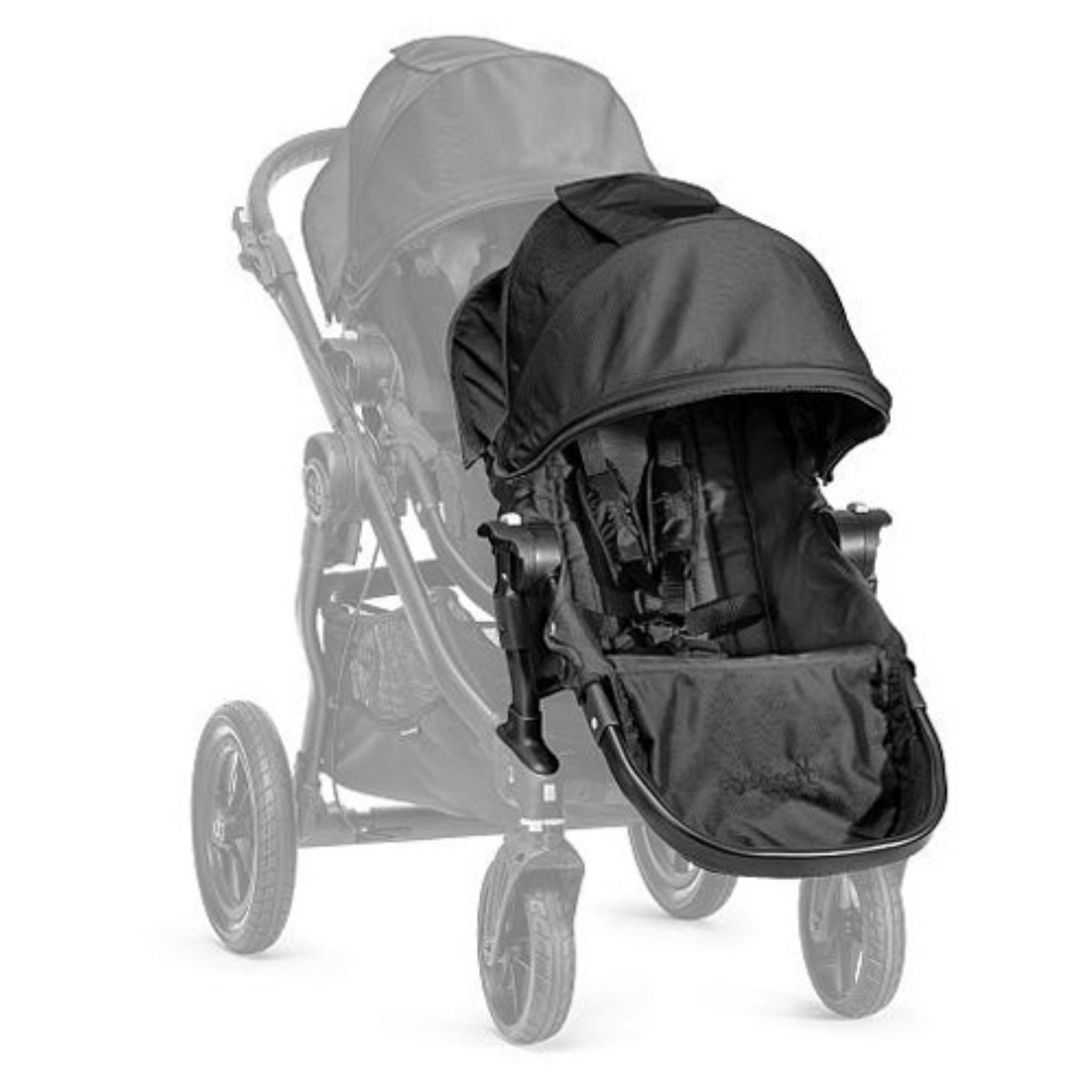 Baby Jogger City Select Second Seat Stroller Kit Black Bj03410 With Images Baby Jogger City Select Baby Jogger City Select Double City Select Double Stroller