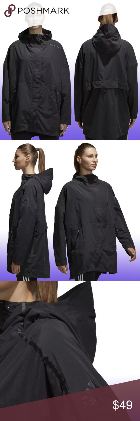 NWT ADIDAS Z.N.E. Supershell Oversized Fall Jacket Very
