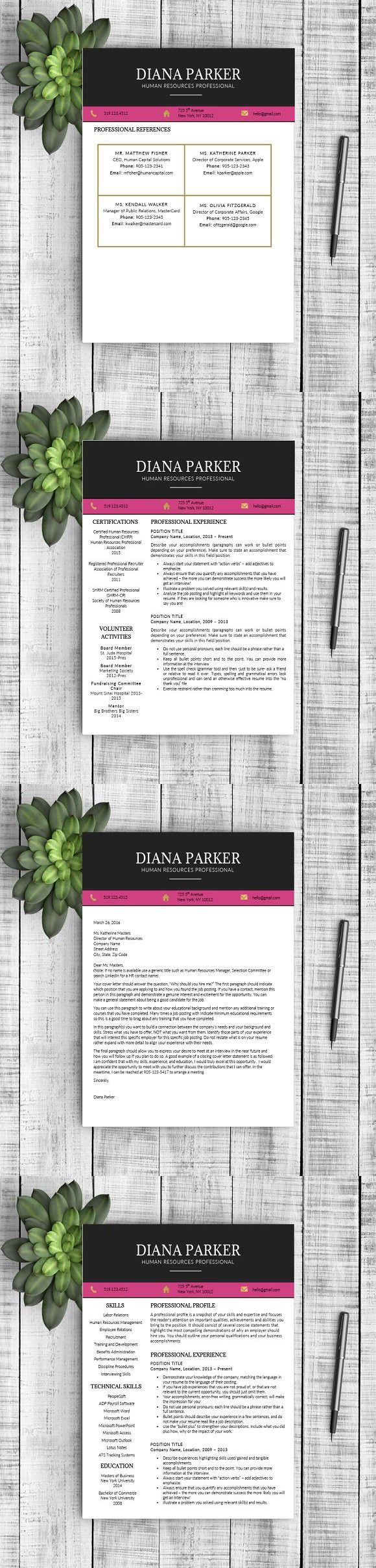 Resume & Cover Letter Diana resume resumes Cover