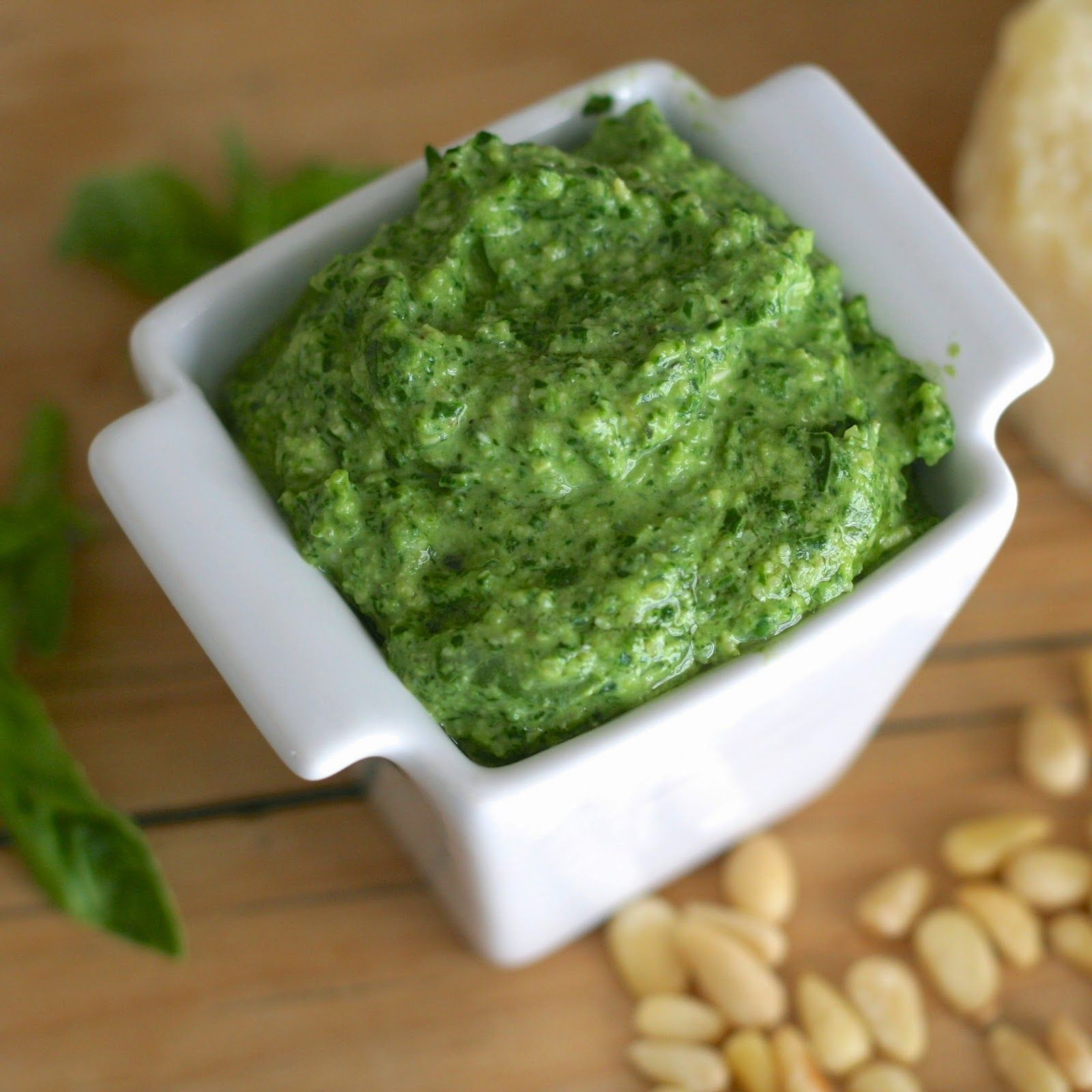 L is for Lemon Basil Pesto {and how to freeze it} Basil