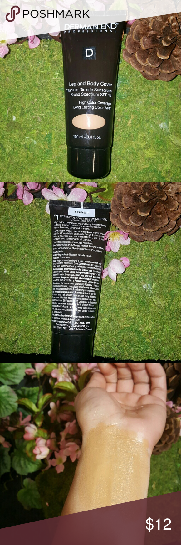 Dermablend leg and Body cover Foundation Dark skin