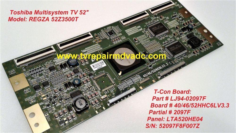 Lj94-03400l  t-con board  samsung un46c8000xfxza sq01