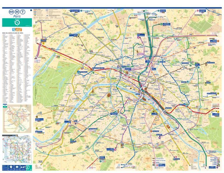 Plan Metro Paris Ratp Pdf Gratuit A Telecharger En 2020 Carte
